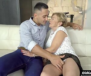 hot grandma and grandson