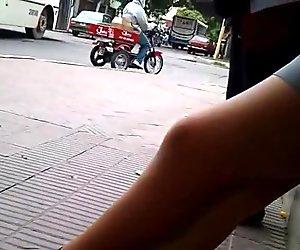 piernas de colegiala