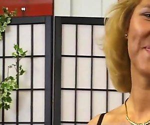 German amateur gets down to her underwear - DBM Video