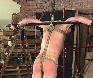 Twink Xavier gets a good handjob from master Ashton
