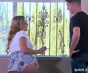 Zlobivé blondýny Blair Williams Slurps na Velké Čurák