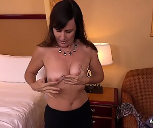 54yo first-timer GILF is a Late Bloomer. porks MOMPOV first Time Ever!