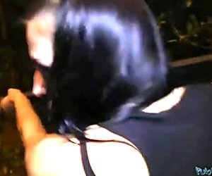 A quickie and wet blowjob
