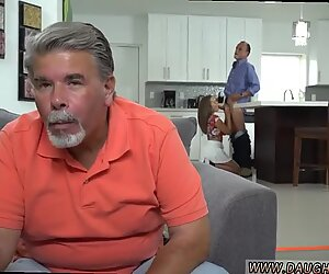 Dad fucks companion patron s daughter at home