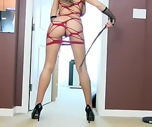 Sexy Mistress JOI With Dildo Play