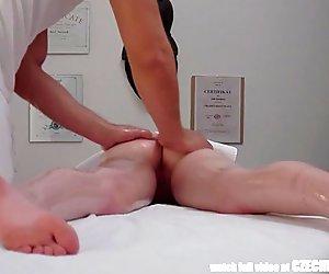 Amazing Teen Fucked in Massage Room
