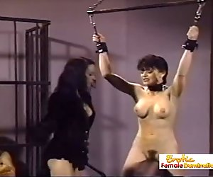 Dominatrix Takes It Out On Her Sloppy Manicurist