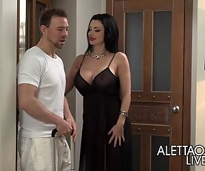 ALL INCLUSIVE MASSAGE WITH ALETTA OCEAN(SNAPCHAT - betfoxx)