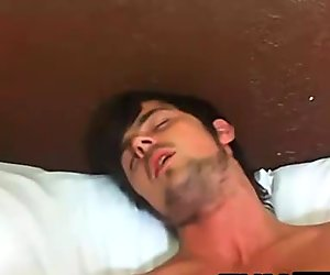 Masturbation in the bedroom with hairy hung think Sean Saint