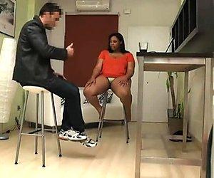 hot bbw ebony spanish girl loves being fucked by stranger