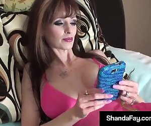 Perfect Titty Wife Shanda Fay Massages Her Pussy & Creams!