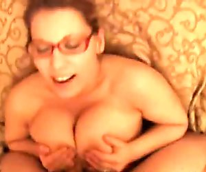 Cock Hungry Busty Slut Begs for Cum