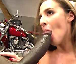Eurobabe assfucked hard by black prick