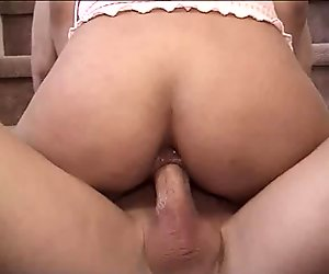 Asian Teen Anal Slave in Pigtails