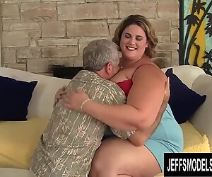 Sexy Plumper Erin Green Bends over and Lets Him Go Ham on That Pussy