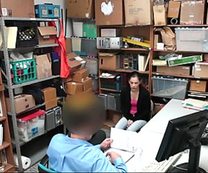 Shoplyfter - Cute Teen Brutally Fucked For Stealing