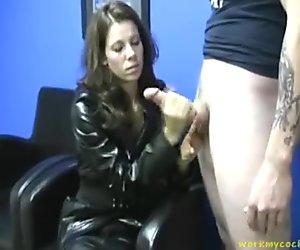 Humilliation Handjob