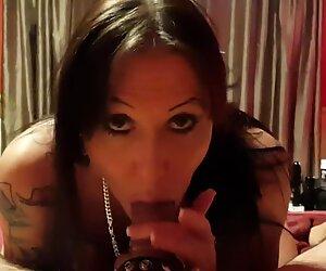 Julia Exclusiv licks my balls and sucks my dick