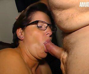 XXXOmas - Fat Ass German Mature Hardcore Afternoon Fuck With Her Naughty Husband - AMATEUREURO