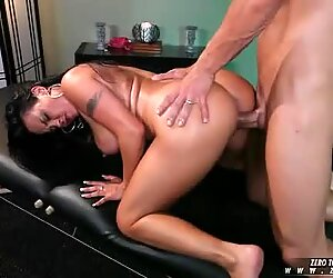 Mariah Milano gets a hardcore slammin from a hard cock