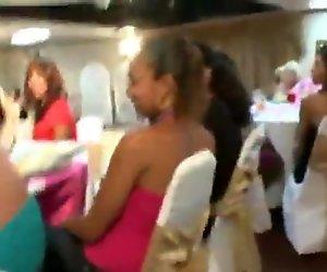 Many Ladies Sucking Strippers Dicks
