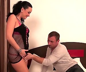 Hot MILF fucking and sucking her ass off