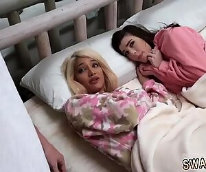 Little teen cum The Sleepover Switch-Up