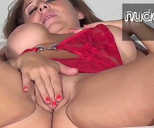 Adin masturbates