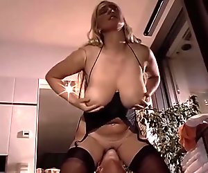 SUPER-TITS fucked in the Bathroom!