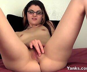 thrilled grimaces babe Lux Leota Orgasms