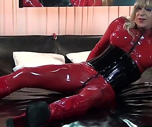 Rubber Latex Lady