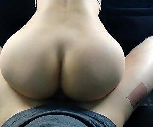 Sex inside Car with Perfect Teen Ass after School Deepthroat POV DeniseXX