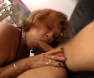 A drink with neighbour MILF in stockings and then fuck her