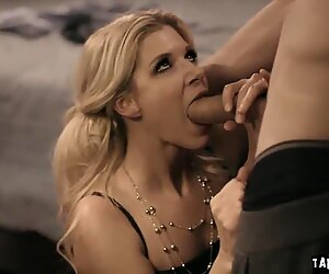 India Summer leisurely buries down to her knees as she becomes prey to her stepson!