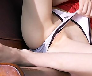 Honey has a lusty twat that is ready for plucking