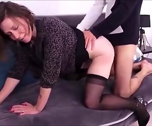CFNM Quick Sex On The Couch