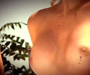 Sexy hotties enjoyed outdoor activities