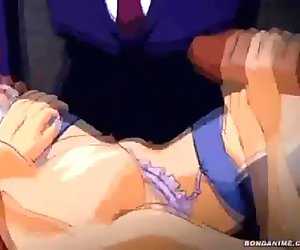 The maids at the mansion gets double penetrated
