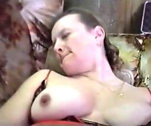 Joanne's double stuffed pussy
