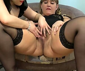 pussy eating for youthful fur covered pussy bbw