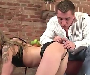 Blonde piss slut playing with horny cock and peeing outdoor