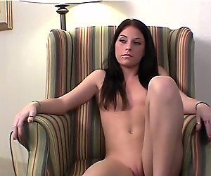Porn Interview with Very Hot Brunette