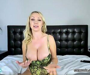 CamSoda - Nikki Benz Big Tits Masturbation MILF