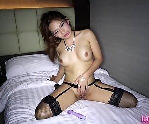 Post-Op Ladyboy Baithong Bareback Action