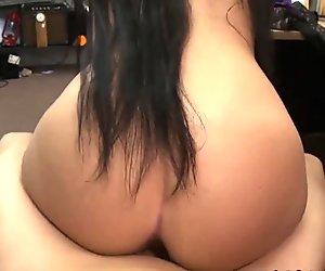 Sluts pussy got fucked hard for some money