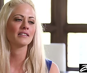 Blonde MILF gets a revenge fuck on her cheating husband