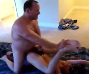 Dad fuck young masked boy