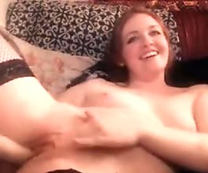 Hot Babe Dildoing And Fingering Her Pussy