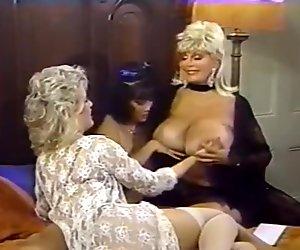 Amber Lynn Debra Lynn Erica Boyer in classic xxx video