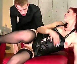 Ginger femdom babe demands to get fucked